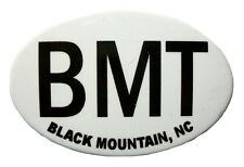 Black Mountain BMT North Carolina Oval Fridge Magnet