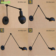 Industrial adjustable long swing arm Wall Lamps Ceiling Lighting Fixture Sconce