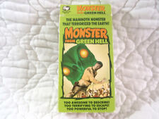 MONSTER FROM GREEN HELL VHS 50'S SCI-FI INSECT HORROR JIM DAVIS CONGO AFRICA