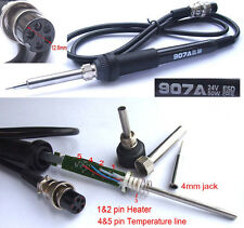 50W 24V Soldering Iron Handle for 4mm 900M-T tips 936 852 907A Soldering station