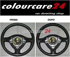Kit De Rénovation Couleur Volant En Cuir Fiat NOIR Retouche EVO Intérieur 500