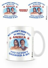 ANCHORMAN 2 - RON BURGUNDY AND JESUS  MUG NEW 100 % OFFICIAL MERCHANDISE