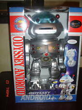 """ODYSSEY ANDROID ROBOT INFRARED RAY TOY MIB NRFB 11.5"""""""