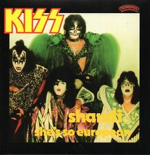 ★☆★ CD Single KISS KISS Shandi 2-track CARD SLEEVE  She's So European  ★☆★