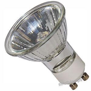 10 LONG LIFE GU10 50 watts Halogen Bulbs  TOP BRAND