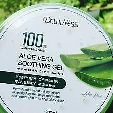 Dewiness  Aloe Vera  Soothing Gel 100%  Made in KOREA 300ml.