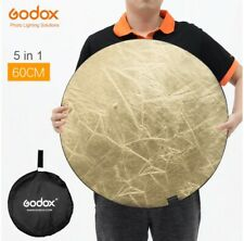 """Godox 60cm 24"""" 5in1 Photography Reflector Board Collapsible for Studio Photograp"""