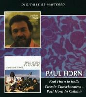 Paul Horn ‎– In India/Cosmic Consciousness - In Kashmir (2013) CD NEW SPEEDYPOST