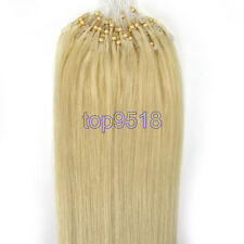 16inch 1g/s Micro Ring Beads Easy Loop Tip Ombre Remy Real Human Hair Extensions