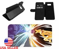 Sasuke Naruto Leather Kick Stand Phone Case for LG Samsung Galaxy iPhone 6 7 8 X