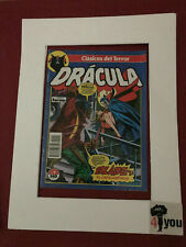 3.5 VG- VERY GOOD- DRACULA # 10 SPANISH EURO VARIANT OW/CP 1988 1ST BLADE