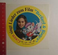 Aufkleber/Sticker: The Walt Disney Company Bernhard & Bianca (011216103)