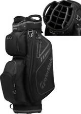 New Taylormade 2019 select plus cart bag Black and Charcoal 15 dividers #G498