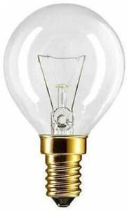 2x Philips Backofenlampe klar 40W E14 Hitzbeständig bis 300°C Ofenlampe Herd OVP