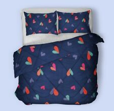 All season Soft Warm Microfiber Quilt Blanket Comforter Duvet and Pillow Case