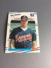1988 Fleer Tom Glavine  #539–1 Rookie Excellent card lot