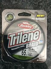 Berkeley Trilene 65# Braid Professional Grade !