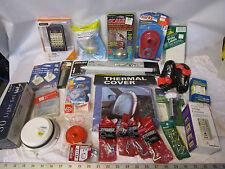 box lot of hardware repair parts household items tools etc in original packages