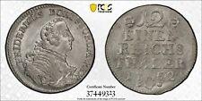 1752-C Prussia 1/12 Taler PCGS MS63