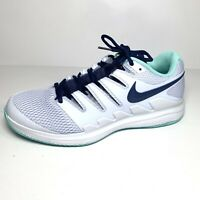 Nike Court Air Zoom Vapor X Womens Tennish Shoes Gray/ Navy Size 10.5 New