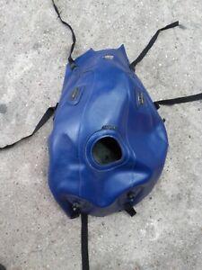 tapis de réservoir BAGSTER cuir bleu Yamaha 1100 BT Bulldog BT1100