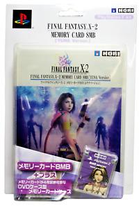Final Fantasy X-2 Hori Magic Gate PS2 Memory Card + Case Japanese Yuna Version