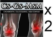 2  CS MSM Cartilage Joint Pain Inflammation Bones Swelling Ligaments Arthritis