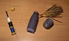 Vintage Bakelite Celluloid Etui Needle Case Thimble Tassel