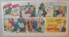Ben-Gay Ad: Peter Pain: Attacks Swap Shop Prop. and Gets Bopped! 7.5 x 14 inches