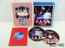 Sphere 2011 Athletic Harmonies Dangerous Stage Live Concert BD Blu-ray US Seller