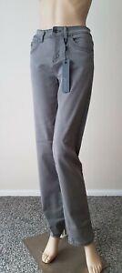 New Women Grey Regular Fit High Waist Stretchy Jeans from Jensen Size: 6/ 18