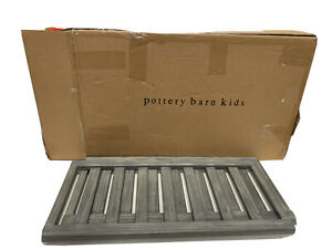 Pottery Barn Weston Toddler Bed Conversion Kit Brushed Charcoal NEW $169
