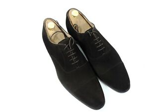New Church's Cheaney Mens Shoes Suede Oxford Caps UK 11 US 12 EU 45 F