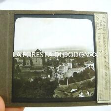 FOTO ANTICA LANTERNA MAGICA  1880 LAUSANNE SUISSE SVIZZERA LAGO GENEVE