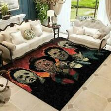 Horror Movie Characters Carpet Living Room Rugs