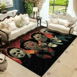 Horror Movie Characters Carpet Living Room Rugs