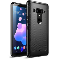Poetic For HTC U12 Plus Rugged Case [Karbon Shield] Shock Absorbing Cover Black