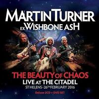 Martin Turner - The Beauty Of Chaos: Live At The Citadel - 2016 (NEW 2CD+DVD)