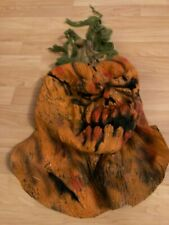 Rotten Pumpkin Head Horror Full Face Mask Latex Halloween Costume Prop