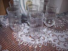 BOTTICELLI LUIGI BORMIOLI SET OF 6 WINE FLUTE GLASSES LIGHT&MUSIC CRYSTAL ITALY