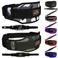 Weight Lifting Belt Neoprene Gym Fitness Workout Double Support Brace