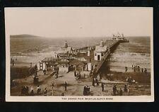 Somerset WESTON-SUPER-MARE Grand Pier c1900/10s? RP PPC by Philco