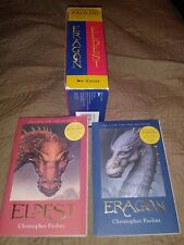 Christopher Paolini Inheritance Books 1 & 2 - Boxed Set Eragon & Eldest 2003