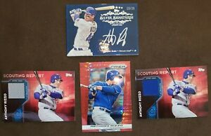 ANTHONY RIZZO AUTO 2013 TOPPS FIVE STAR SILVER SIGNATURES #13/25 (4 CARD LOT)🔥⚾