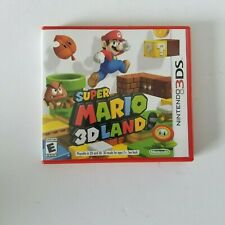 Super Mario 3D Land (Nintendo 3DS, 2011) Complete with game manual cover art