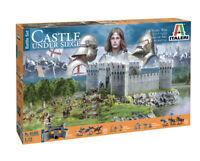 100 Years War Castle Under Siege Kit ITALERI 1:72 IT6185