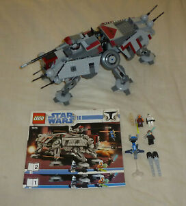 LEGO Star Wars 7675 AT-TE Walker with some Figures - From 2008