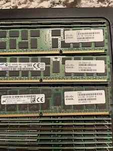 60 Piece LOT. 16GB 2Rx4 PC3L-12800R; UCS-MR-1X162RY-A