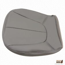 1997 Ford Expedition XLT Driver Bottom Leather Seat Cover Color GRAY