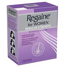 Regaine for Women Regular Strength Minoxidil 2% Scalp Solution 60ml